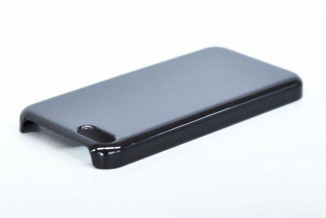 iPhone5c 無地ハードケース