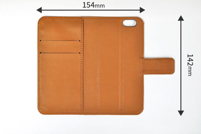 iphone8ケースサイズ:内側