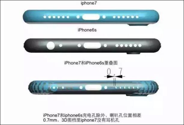 iPhone7 底面コネクタ
