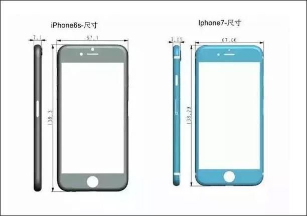 iPhone7 カメラホール