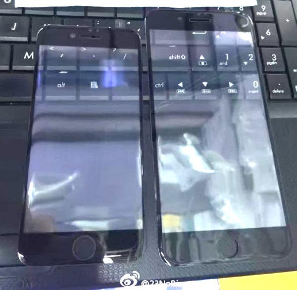 iPhone7 ホームボタン比較
