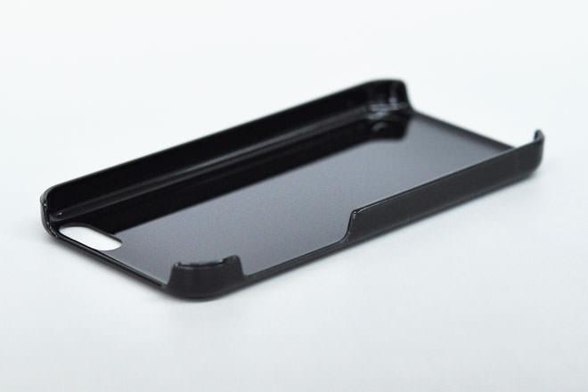 iPhone5c 無地ハードケース-4