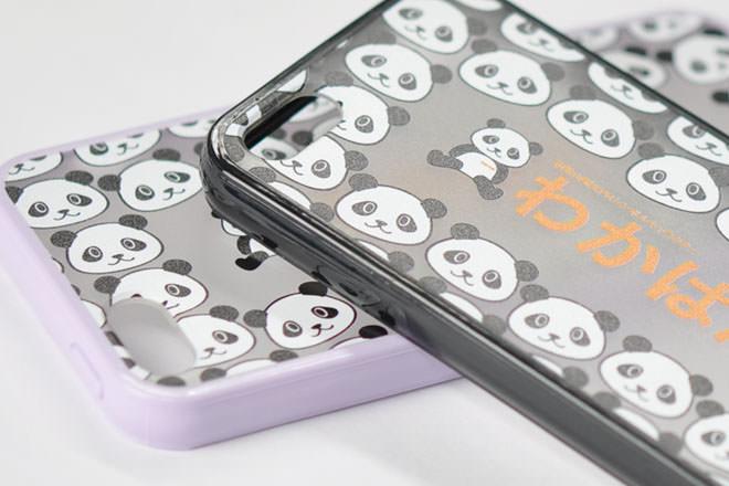 iPhone5/5sのカラフルケース・カバー作成インクジェット印刷