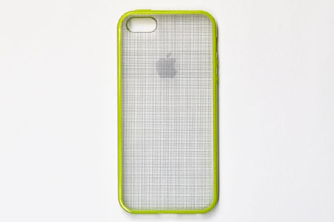 iPhone5/5sのカラフルケース・カバー作成透明ケースの素材を活かしたデザイン