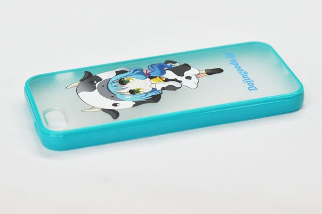 iPhone5/5sのカラフルケース・カバー作成パッケージにも入れられます!