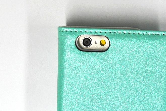 iPhone6/6 Plus ストラップ付き手帳型レザーケース-6
