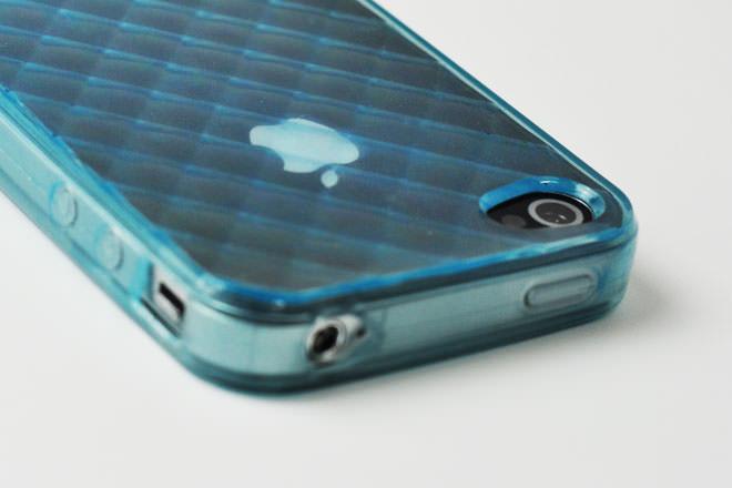 型彫模様 iPhone4カバー 自社オリジナル