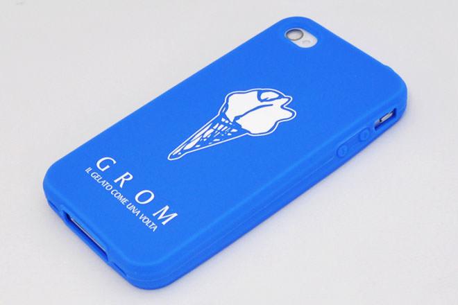 ジェラート iPhone4シリコンカバー グロムジャパン様