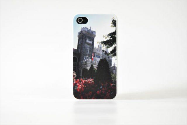 城 iPhone4カバー 自社オリジナル