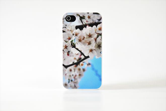 桜 iPhone4カバー 自社オリジナル