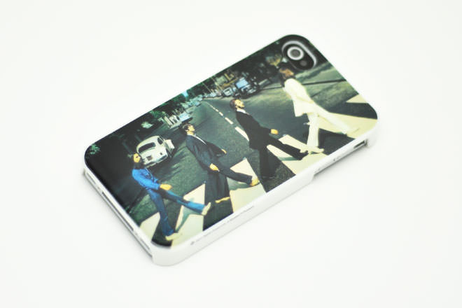 The Beatles ABBEY ROAD iPhone4カバー