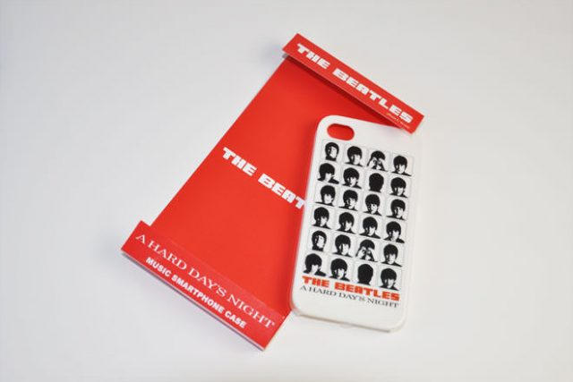 The Beatles A HARD DAY'S NIGHT WHITE iPhone4カバー 共同企画