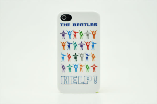 The Beatles HELP! COLOR iPhone4カバー