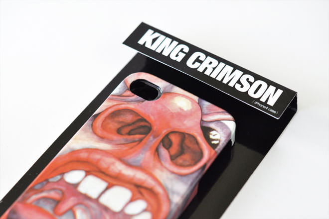 King Crimson クリムゾン・キングの宮殿 iPhone4カバー 共同企画