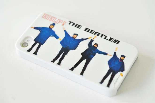 The Beatles HELP! iPhone4カバー 共同企画