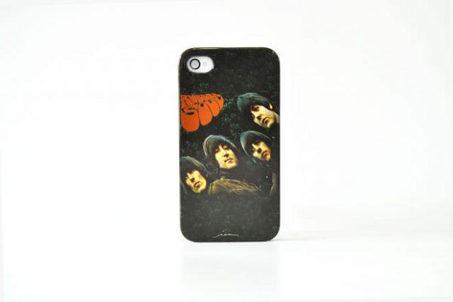 The Beatles Rubber Soul iPhone4カバー 共同企画
