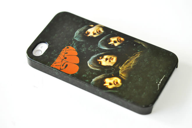 The Beatles Rubber Soul iPhone4カバー