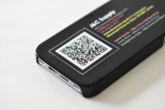 iPhone4/4sのケース・カバー作成インクジェット印刷