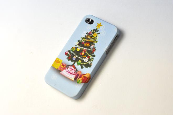 クリスマス iPhone4カバー