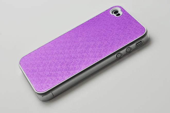 型彫り iPhone4カバー
