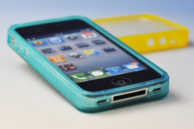 カラフルフレーム iPhone4カバー 自社オリジナル-2
