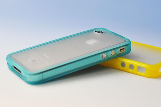カラフルフレーム iPhone4カバー 自社オリジナル-3