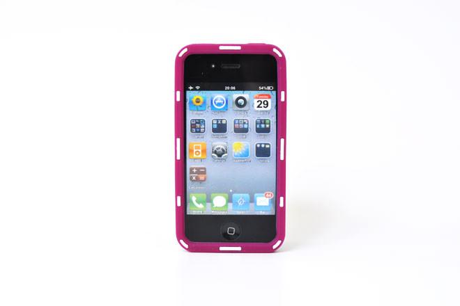 型彫り iPhone4シリコンカバー 自社オリジナル-2