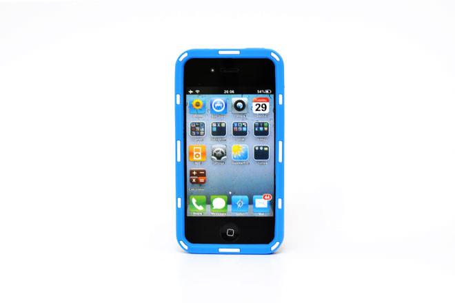 型彫り iPhone4シリコンカバー 自社オリジナル-4