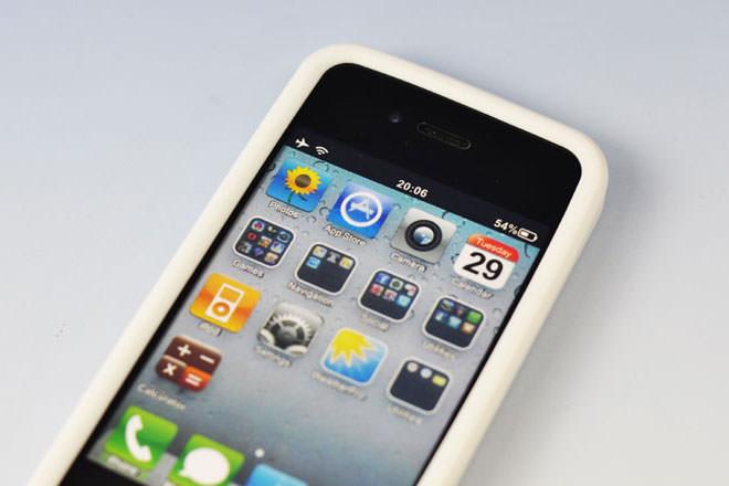 シリコン製 iPhone4カバー