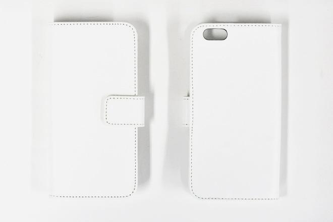 iPhone6/6s 手帳型無地ケース-2
