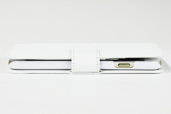 iPhone6/6s 手帳型無地ケース-3