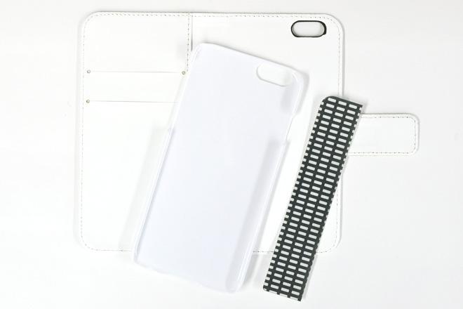 iPhone6/6s 手帳型無地ケース-5