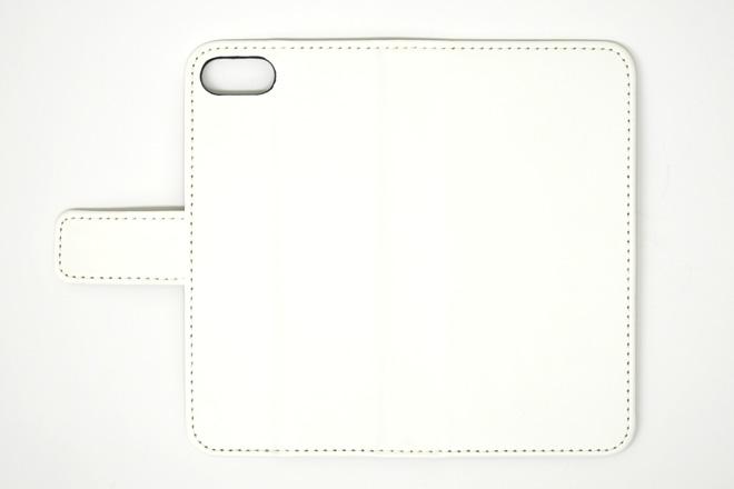 iPhone8/7 手帳型無地ケース-2