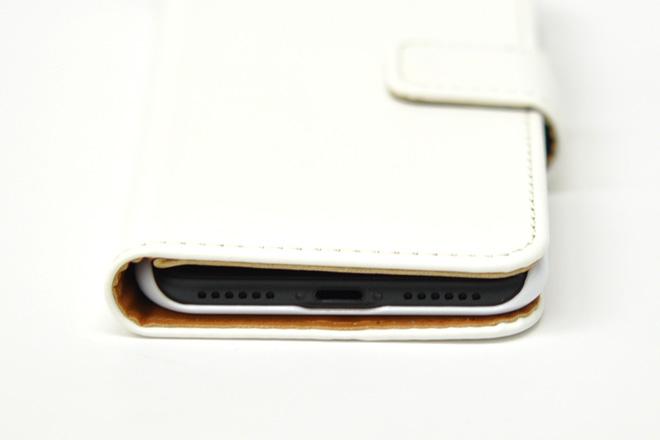 iPhone8/7 手帳型無地ケース-5