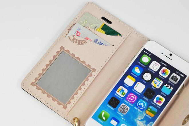 おしゃれ!かわいい!手帳型iPhoneケースの仕様