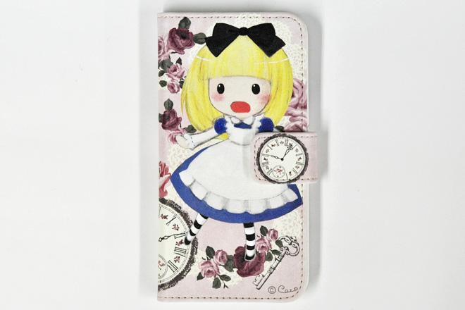 iPhone6/6s専用 手帳型レザーケースインクジェット印刷