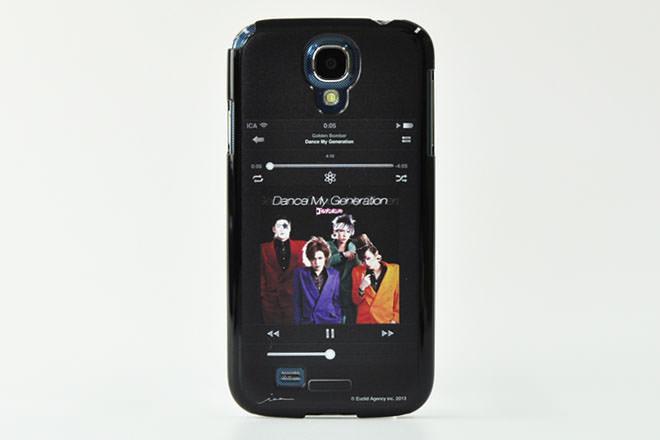 ゴールデンボンバー・Galaxy S4カバー