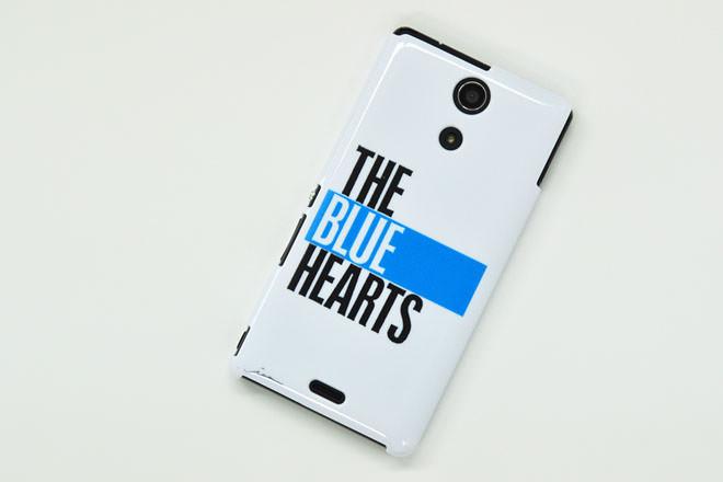 THE BLUE HEARTS・Xperia A カバー