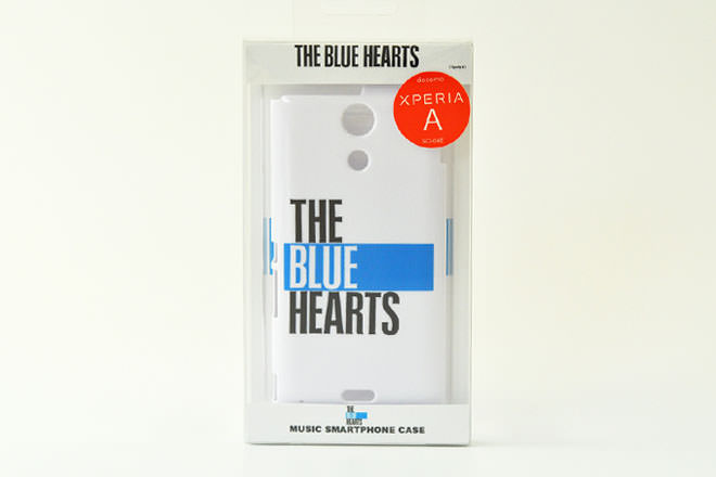 THE BLUE HEARTS・Xperia A カバー