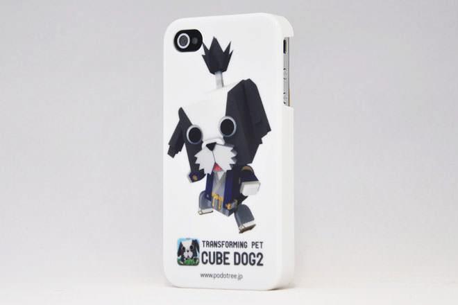 CUBE DOG2 iPhone4カバー アジャイルメディア・ネットワーク様