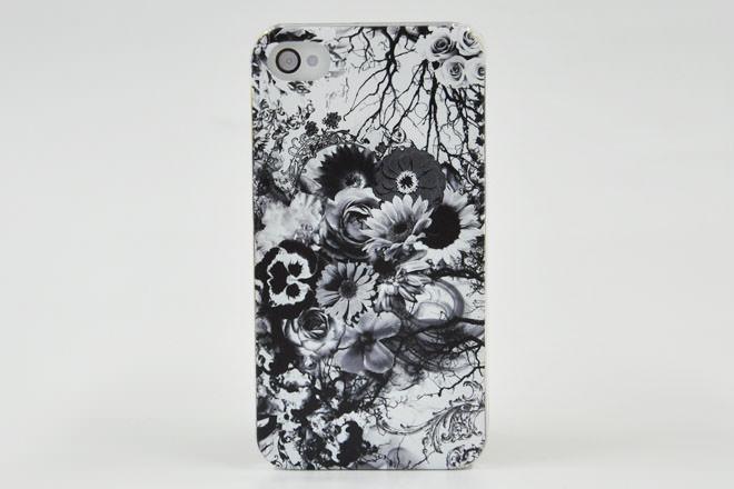 モノクロ iPhone4カバー シーフ様