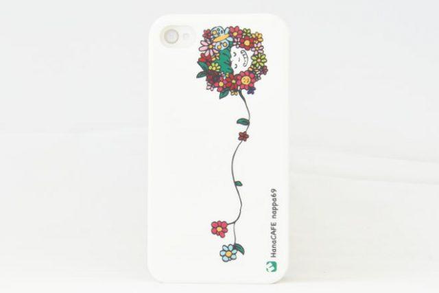 花 iPhone4カバー Hanacafe様
