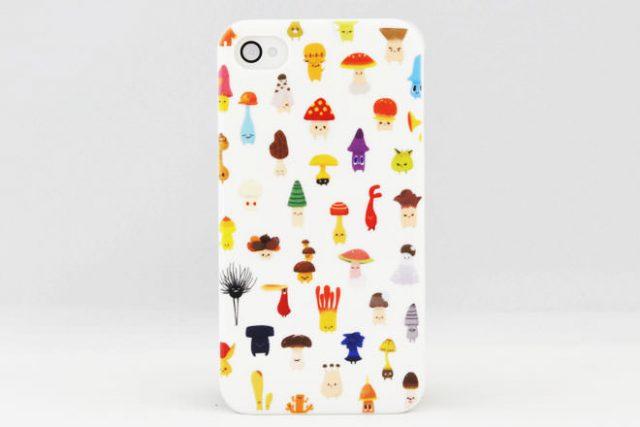 キノコ iPhone4カバー K様
