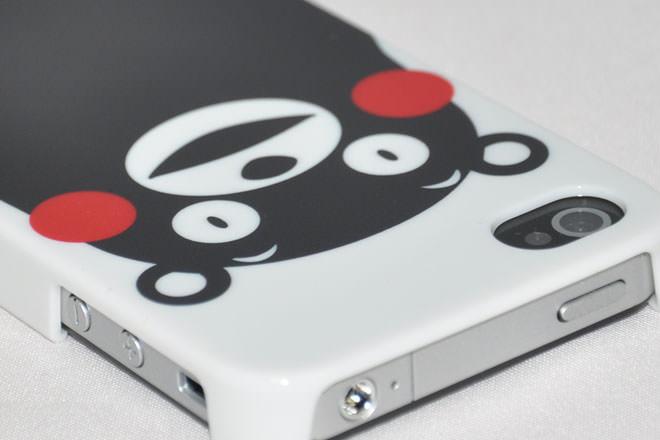 くまモン iPhone4カバー ルイフワークス様