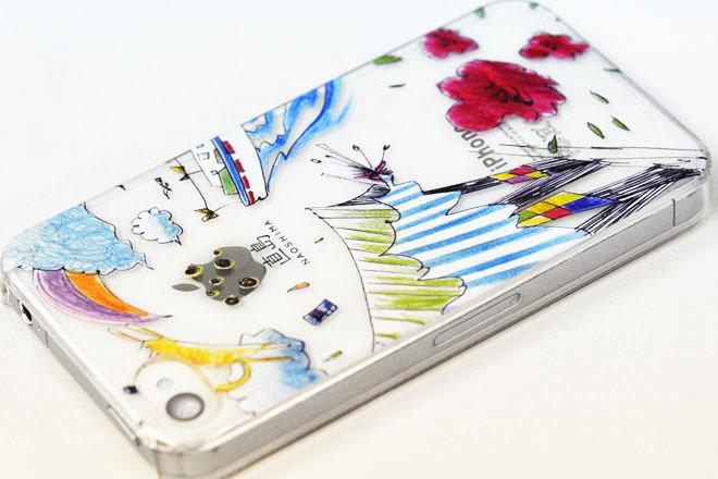 直島 iPhone4カバー