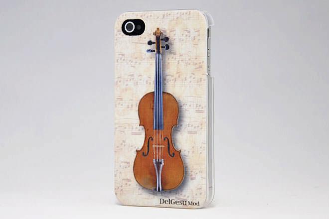 楽器 iPhone4カバー 有限会社セシリアムジカ様