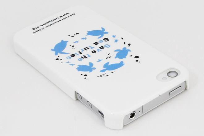 ウミガメ iPhone4カバー 日本ウミガメ協議会様