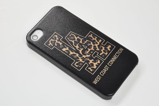 ロゴマーク iPhone4カバー WCC様