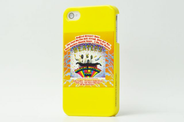 The Beatles MAGICAL MYSTERY TOUR iPhone4カバー 共同企画