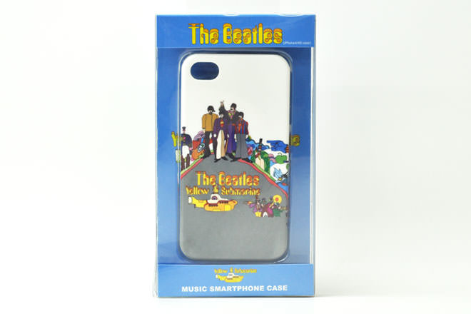 The Beatles「Yellowsubmarine NOTHINGIS REAL」 iPhone4カバー